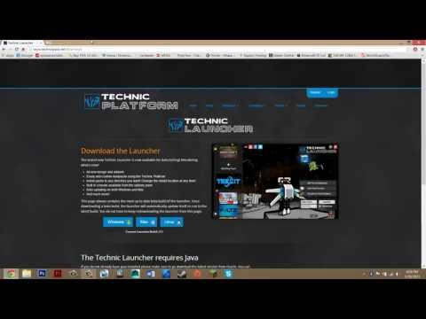 How To Install Technic Launcher Minecraft 1.6.4