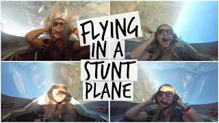 INSANE ➜ Flying in a Stunt Plane!