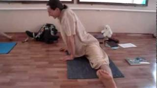 Exercises from yoga for split (3) Упражнения из йоги для шпагата