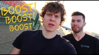 Boost VS Bubblegum | James Deane & Piotr Wiecek VLOG