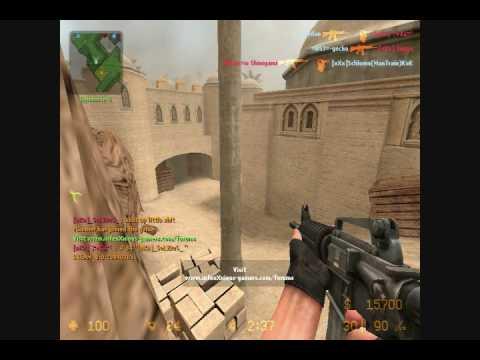 Counterstrike Source De dust2 [xxx] Server video