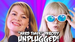 """Paramore """"Hard Times"""" PARODY! The Key of Awesome UNPLUGGED"""