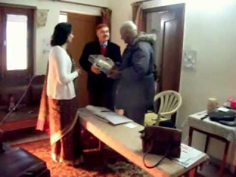 NCC RDC 1987 LT GEN M MAYADAS RETD, 15 JAN-2012 PRESENTING YEP SHIELD .