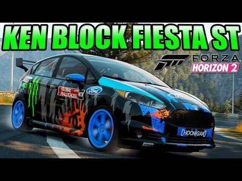 Forza Horizon 2 Custom Cars - #13 Ken Block's Fiesta St - Joining up To Speed Podcast & More video