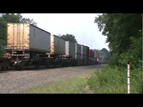 Norfolk Southern Pittsburgh Line Series - Part 17 - McVeytown, PA - 7/9/10 ©