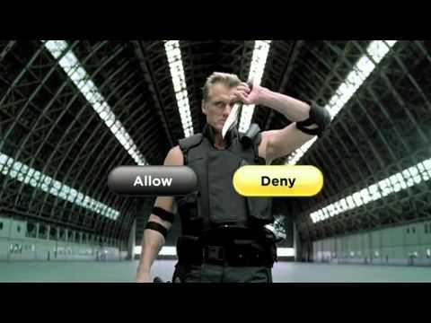 Funny Norton 2011 Commercial Lundgren - Deny