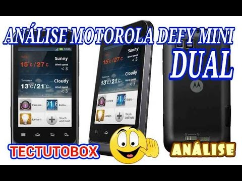 Motorola Defy Mini (XT321) video analise