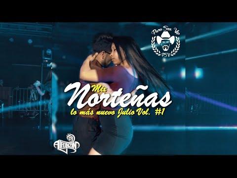 Norteñas Mix 2017   Lo más nuevo Julio Parejas Bailando ► DjAlfonzin