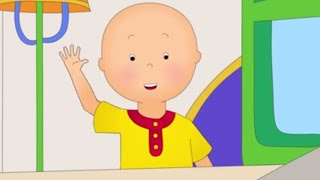 Funny Animated cartoons Kid | Caillou gets ready for school | WATCH ONLINE | Cartoon for Children