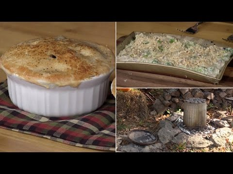 How-To Make a Trash Can Turkey, Turkey Pot Pie & Creamed Brussels Sprouts (Episode #330)
