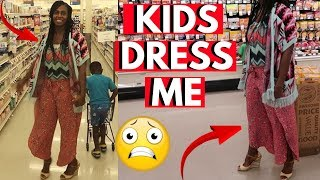 I LET MY KID DRESS ME FOR THE DAY!