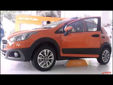 Fiat Avventura SUV Car Launched in India Fiat Showroom Ahmedabad Sales Rep Marketing Avventura Car