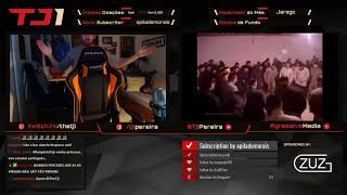 TheTji - O DESCENDENTE DO OLIMPO - Twitch Highlights [24/2/2018]