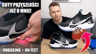 MAM SAMOWIĄŻĄCE SIĘ BUTY! 😱 Nike Adapt BB (Unboxing + on feet) | ButGra
