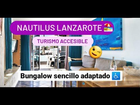 Bungalow sencillo adaptado en Nautilus Lanzarote by Equalitas Vitae