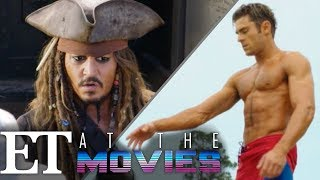 """""""Baywatch"""" and """"Dead Men Tell No Tales"""" Breakdown   ET at the Movies"""