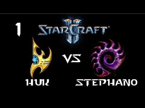 StarCraft 2 - HuK [P] vs Stephano [Z] G1 (Commentary)
