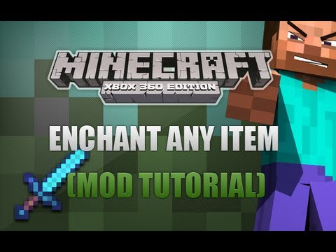 Minecraft Xbox 360 - How To Enchant Any Item (Tutorial)
