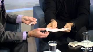 David Blaine doing Angle Z on interview
