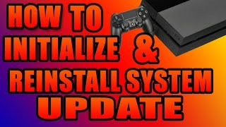 How to fix ps4 Software Update Error Fix  (Initialize and reinstall system software)