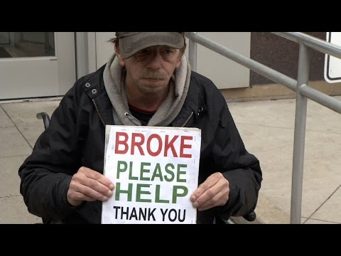 Homeless Man Fights New Brunswick Begging Ban