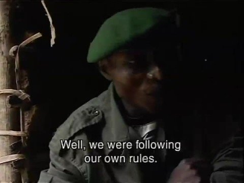 Congo Soldiers Explain Why They Rape video