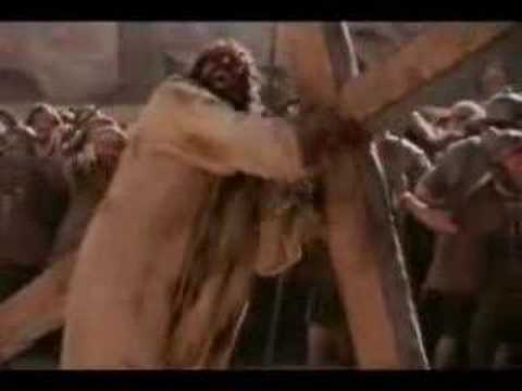 Jesus At The Cross (touching)