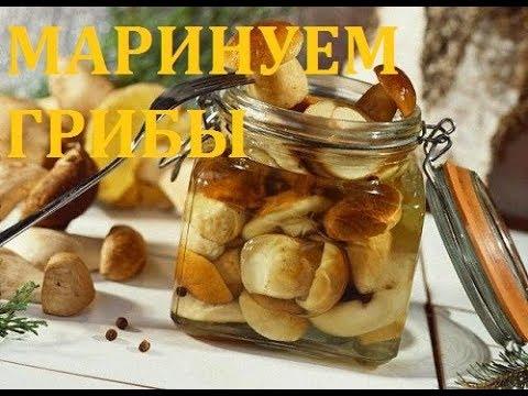 Маринованные грибы на зиму - ВКУСНЕЙШИЙ МАРИНАД!