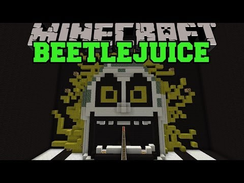 Minecraft: BEETLEJUICE ROLLERCOASTER (COMPLETELY EPIC RIDE!) Map