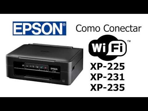 Como Conectar a Multifuncional Epson XP-225/XP-231 no Wi-Fi