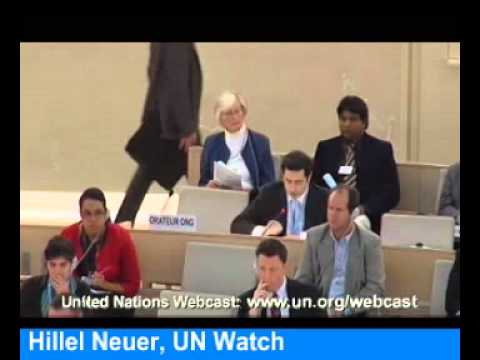 UN Watch's Hillel Neuer slams Iran & Saudi Arabia on Women's Rights