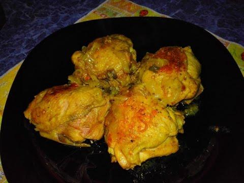 Вкусно куриные бедрышки в мультиварке рецепт