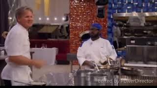 World no 1 chef Gordan Ramsay  aggressive behaviour