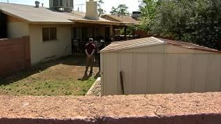 Intense 911 call of homeowner shooing intruder