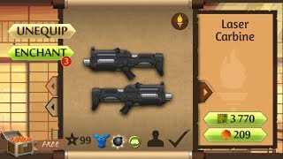 Shadow Fight 2 New Laser Carbine