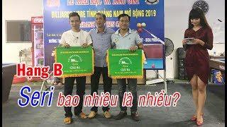 D-BO: Seri của Trần Cảnh giải bida phăng (libre) hạng B - CLB Win - Tam Kỳ mở rộng 당구