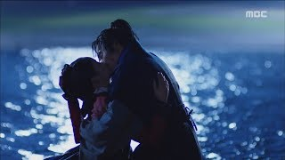 [The Emperor: Owner of the Mask]군주-가면의주인 ep.21,22Seung-ho♥So-hyun, Ardent kiss in the water.20170614