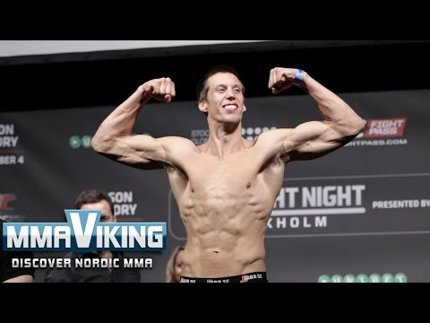 UFC Sweden 3 Weigh Ins Magnus Cedenblad vs. Scott Askham