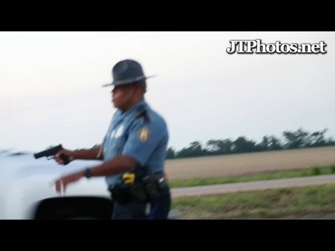 Exotic cars pulled over at gunpoint