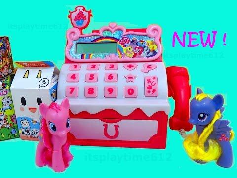 New MY LITTLE PONY SUGAR CUBE CASH REGISTER & Surprise Toys | itsplaytime612