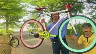 Hướng dẫn tập chạy xe đạp Fixed Gear cho người mới bắt đầu