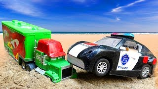 🚚 Police cars and small cars are fun 🚚 F14M Toys for kids 🚚