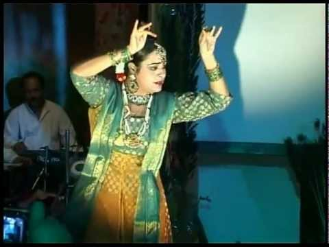 BHANUSINGHER PADAVALI (Rabindranath Tagore's  opera) - Dance performance by Anurekha Ghosh; PART 1