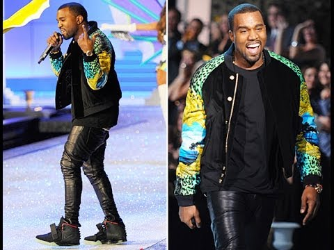 Kanye West Versace H&m Bomber