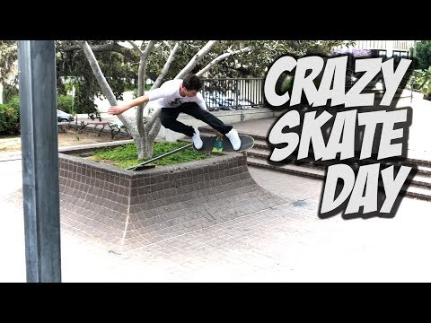 CRAZY DAY SKATING WITH THE POWELL TEAM !!! - NKA VIDS -