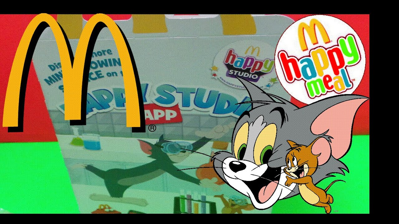 Mcdonalds Meal Box Mcdonald's Kids Happy Meal