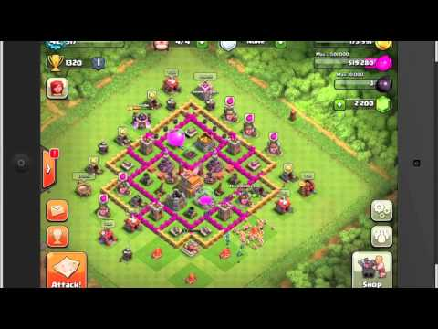 Best Town Hall 7 Layout