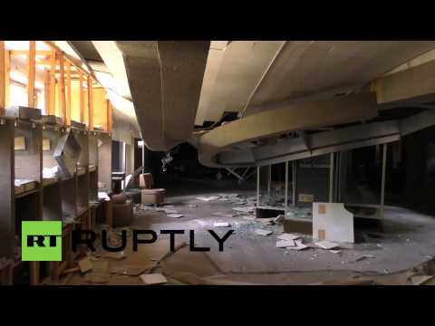 Ukraine: See how shelling annihilated this Donetsk museum