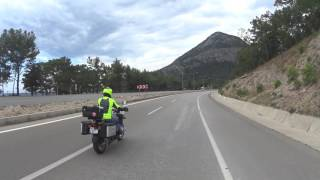 bmw r1200gs motorcycle rider ilker
