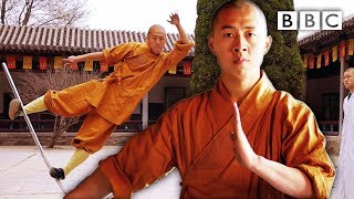 The extraordinary final test to become a Shaolin Master   Sacred Wonders - BBC